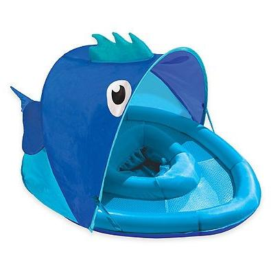 fabric covered fun fish float