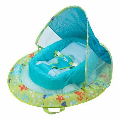 SwimWays Fabric Infant Spring Swimming Float with