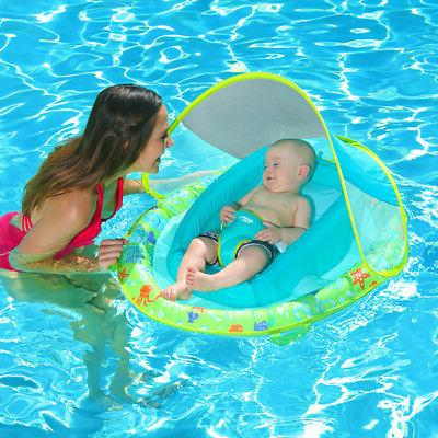 SwimWays Fabric Infant Spring Swimming with Canopy