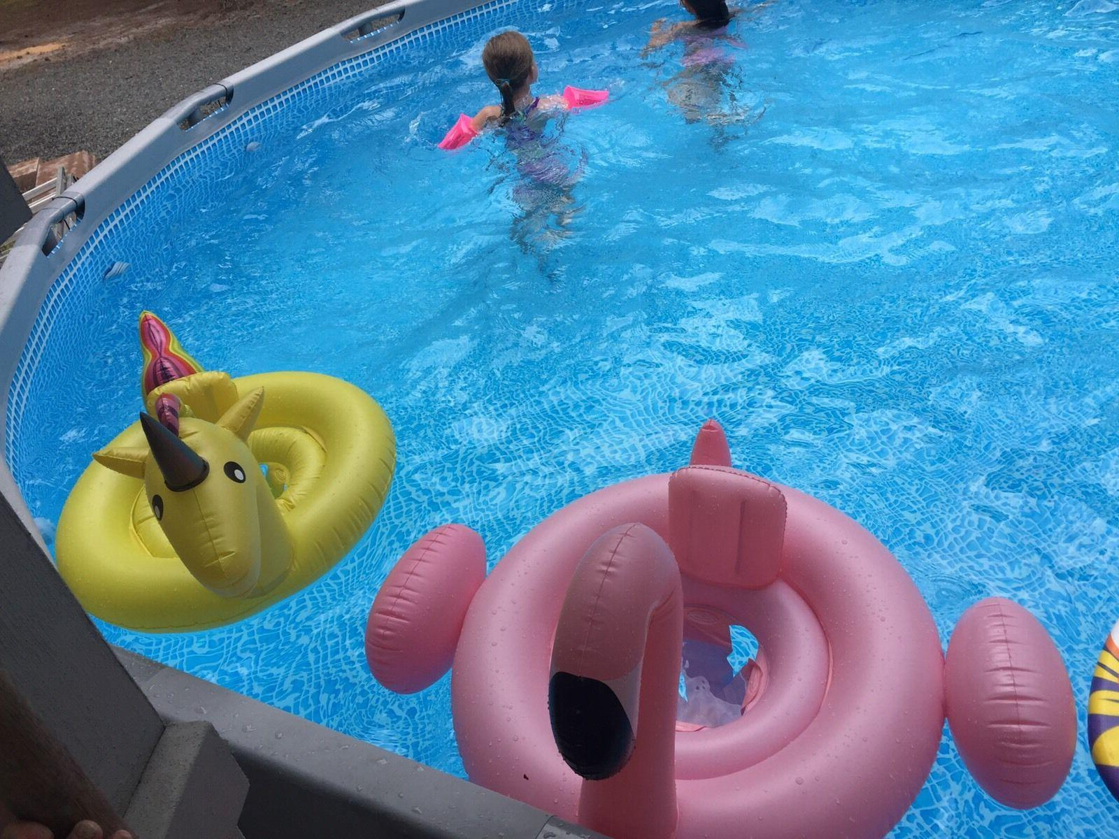 Flamingo baby raft inflatable float Perfect Toy