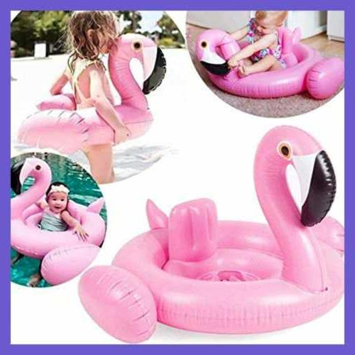 Flamingo Baby Swimming Float Pool Floats For Kids Toddlers L