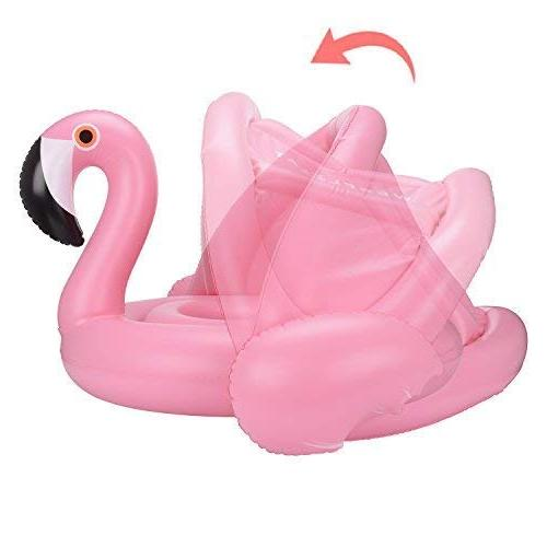 Weefloat Flamingo with Pool Float Popular Swimming
