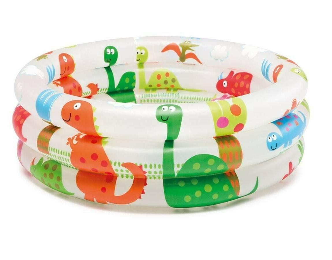 Float Intex Dinosaur 3 Baby Pool Lawn