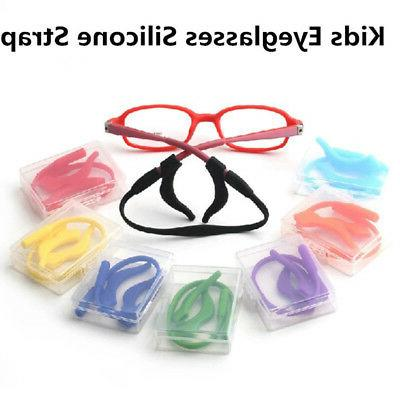 floating kids child silicone glasses eyeglass holder