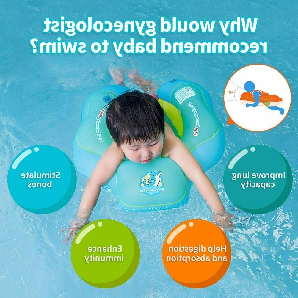 Free Swimming Baby Inflatable Baby Swim Float Inflatable Poo