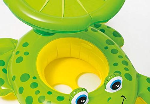 Intex Froggy Friend Canopy Baby Kiddie Pool Floating |