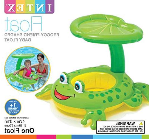 Intex Froggy Canopy Baby Floating Raft
