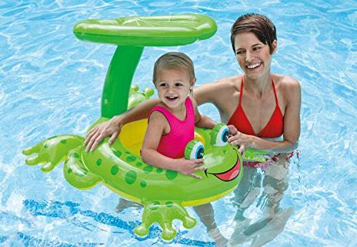 Intex Froggy Canopy Baby Floating
