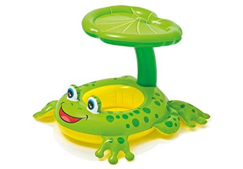 Intex Froggy Canopy Baby Kiddie Floating Raft