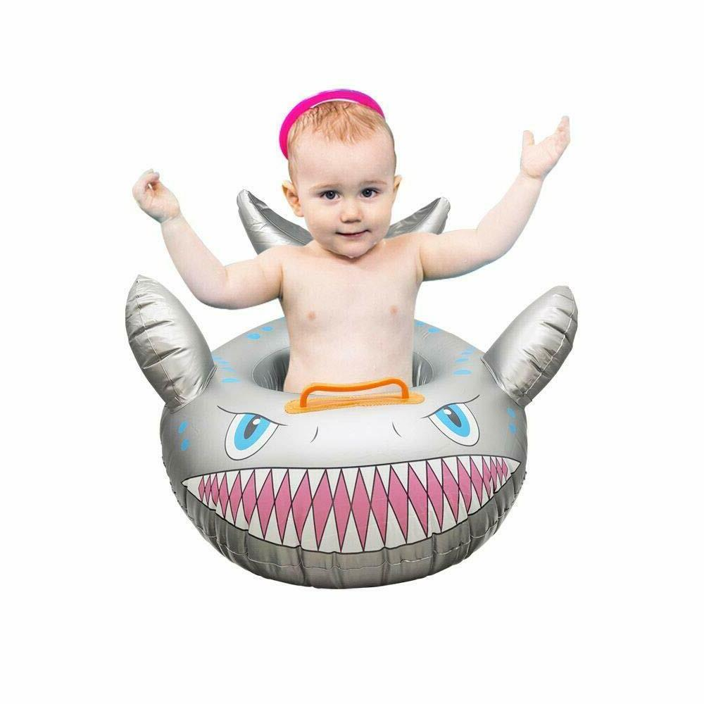 Fun Cartoon Ring Toddler Inflatable Float Seat for Swimming Pool Water