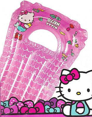 HELLO KITTY SURF RIDER FLOAT Ride Splash Swim Child Kids Gir