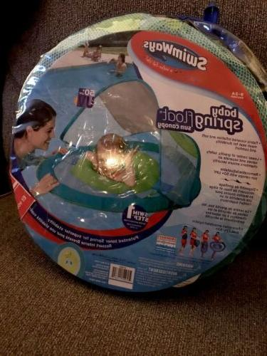 SWIMWAYS INFANT BABY SPRING FLOAT SUN NEW