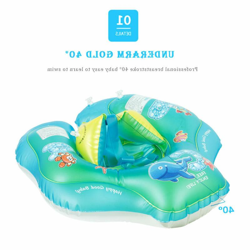 Inflatable Kids Float Swimming Safety Swim Trainer Water Pool