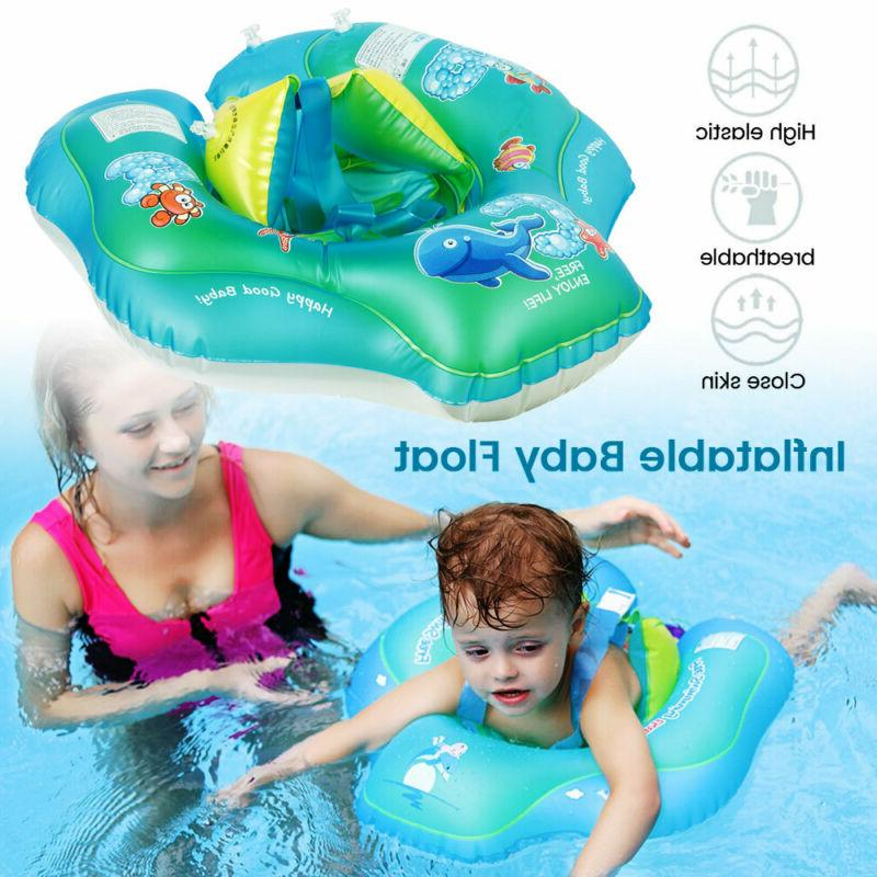 inflatable baby kids float swimming ring safety