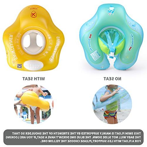 Free Baby Swimming Children Waist Ring Inflatable Swimming The Months
