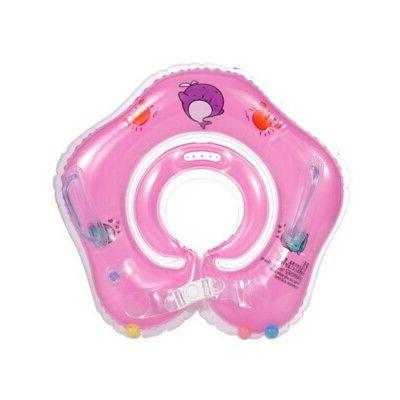 Newborn Infant Safety Swimming Neck Bath Circle US