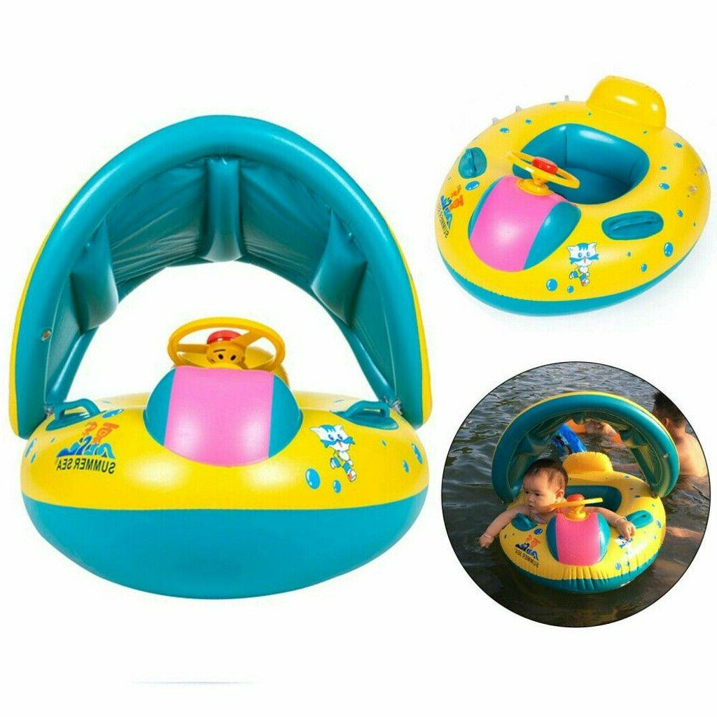Inflatable Mother & Swim Seat Pool Boat