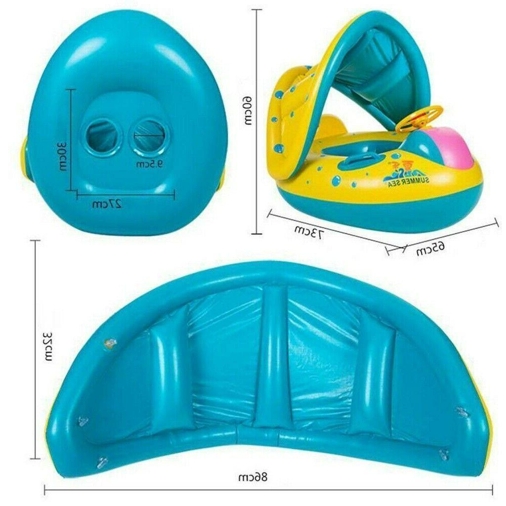 Adjustable Baby Sunshade Swim USA