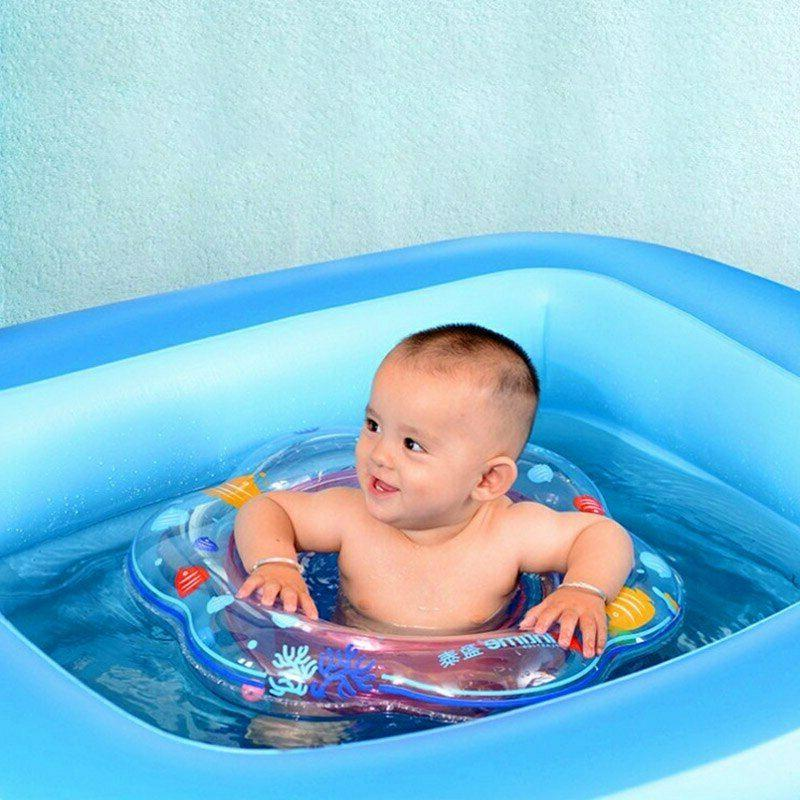 Inflatable Float Kids Swimming Children Boat Pool