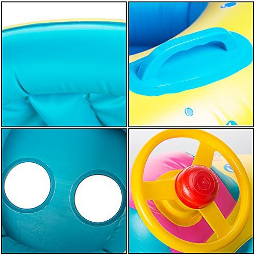 R HORSE Inflatable Baby Ring for Age Months with