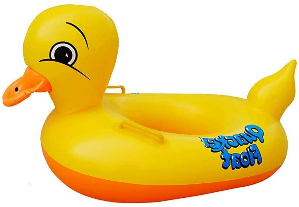inflatable rubber duck pool float for kids