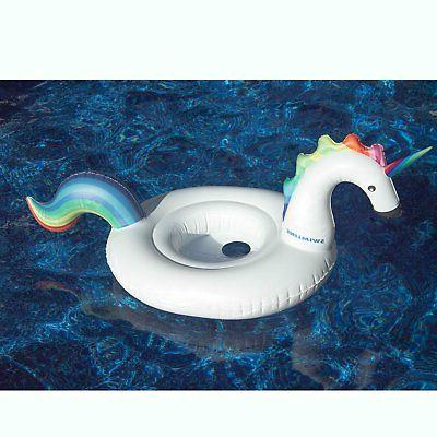 Swimline Inflatable Unicorn Baby Floating Lounger for Swimming