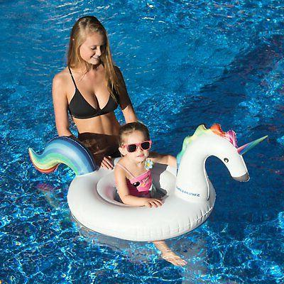 Swimline Inflatable Floating Lounger for Swimming