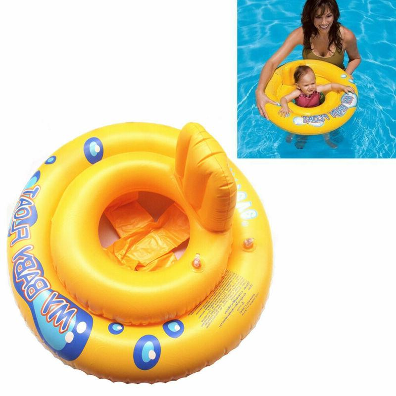 Intex My Baby Swimming Swim Ring Pool Infant Chair Lounge Backrest
