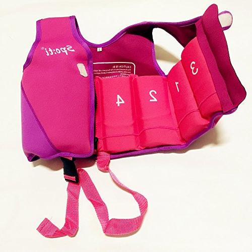 Titop Life Jacket Child for New Learner Protection for