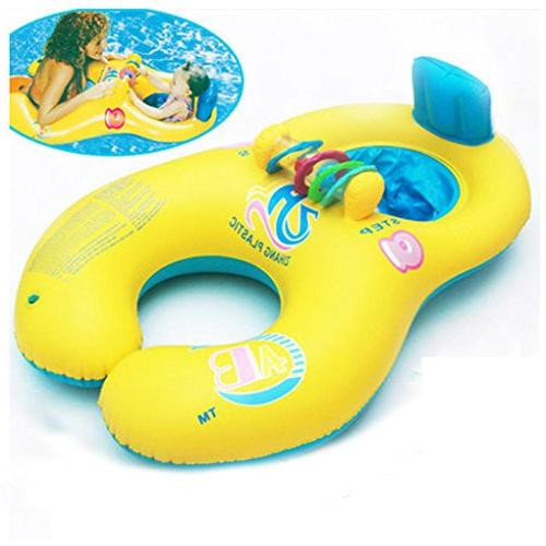 mother inflatable swim ring swimming