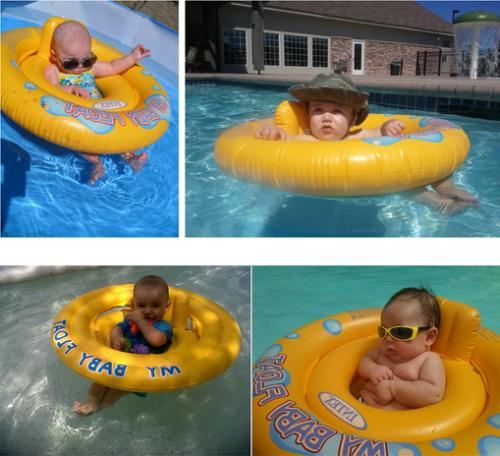 My Baby Seat Pool Inflatable Chair Float US