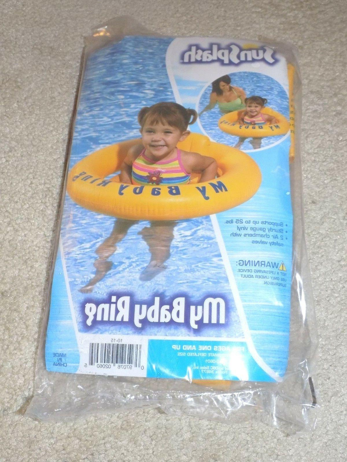 my baby ring water float supports up
