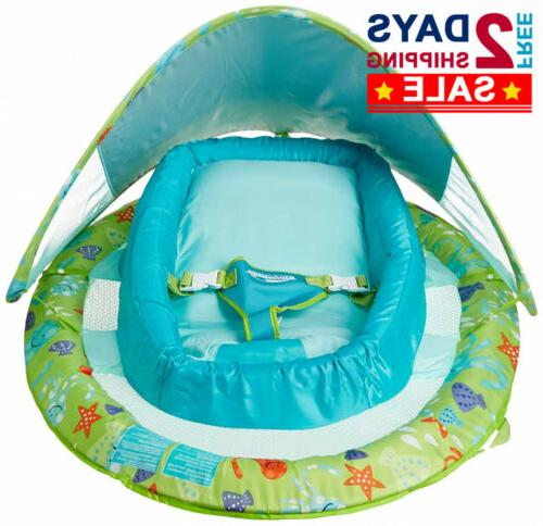 NEW Baby Float with Adjustable Canopy Pool Float Toys