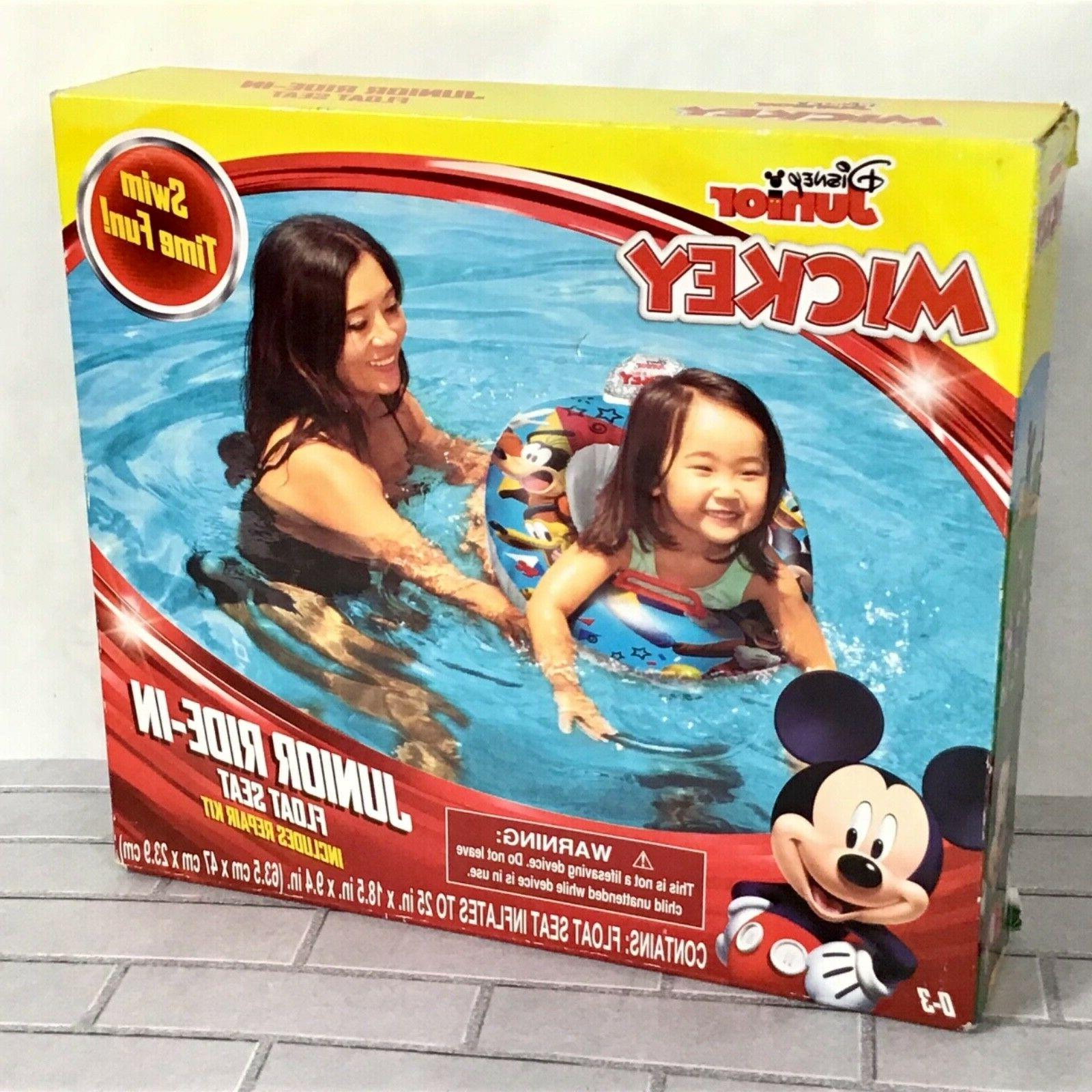 nwt mickey mouse junior ride in pool