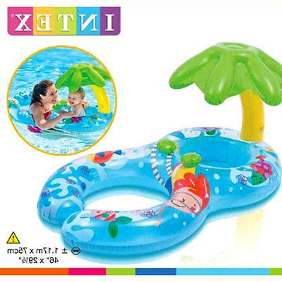 palm tree sunshade baby and adult inflatable
