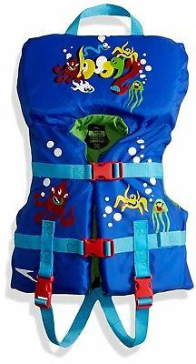 Speedo Infant Personal Life Jacket, Sapphire Blue, 30-Pound