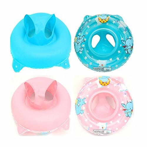 Baby Float for 3-36 with Double Handle,Infant Swim Ring Swimming Pool Accessories Baby Kids Pool,Bathtub,Outdoor