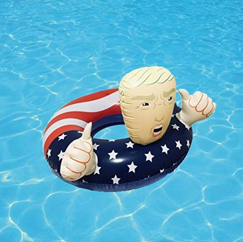 BOSST Donald Trump Inflatable Float Summer Floats 1pack