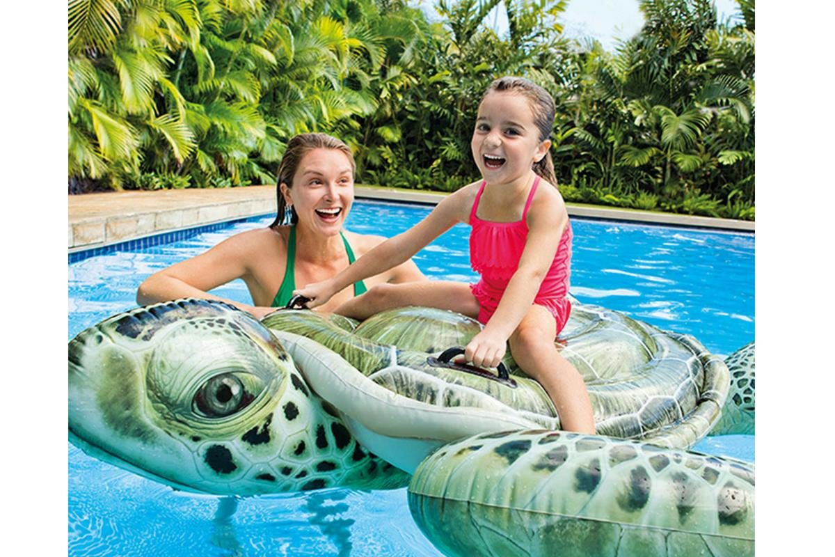 Pool Float Babies Baby Toddler Ride Turtle Inflatable