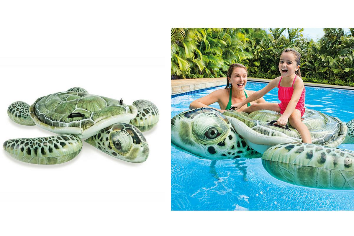 Pool Float Babies Ride On Turtle Toy