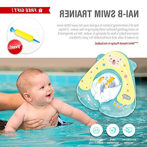 Nai-B Pool Floats Kids Toddler, Baby Swim for Infants, for Pool
