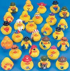 rubber ducky assortment 25