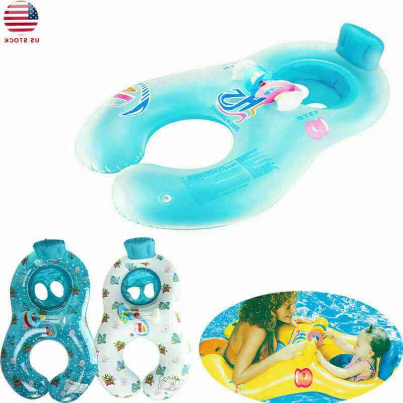 Safety Soft Baby Swim Float Raft Kids Chair Double Person