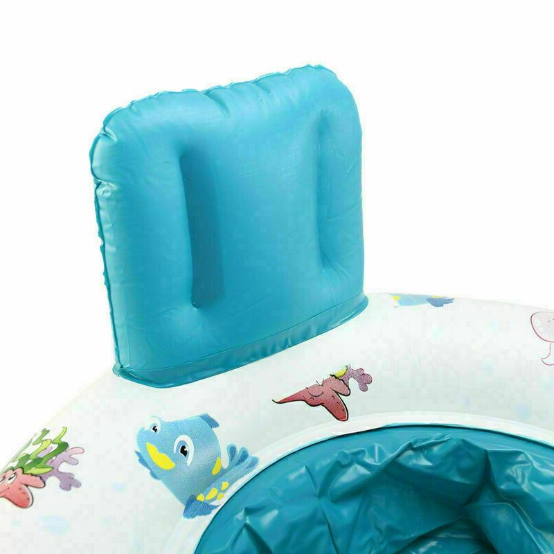 Safety Baby Swim Float Raft Kids Seat Double Person