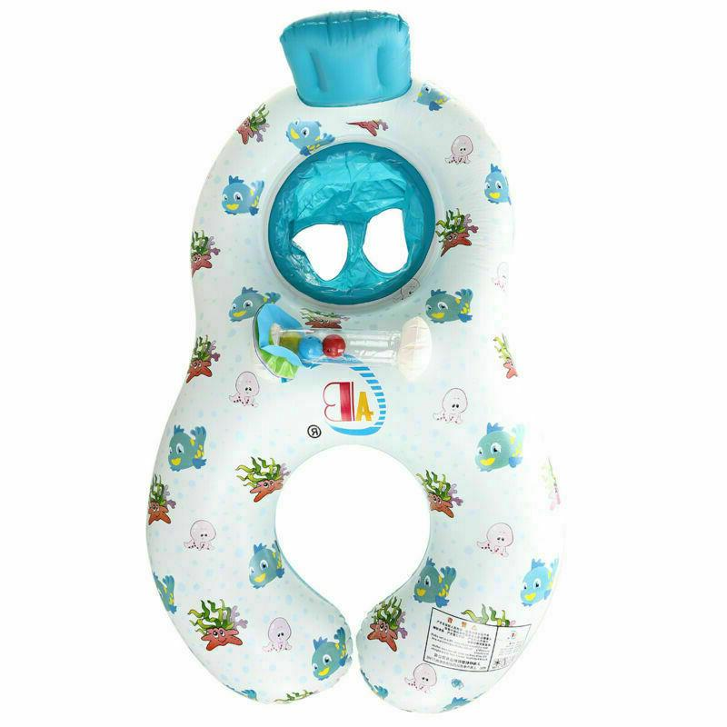 safety soft inflatable mother baby swim float