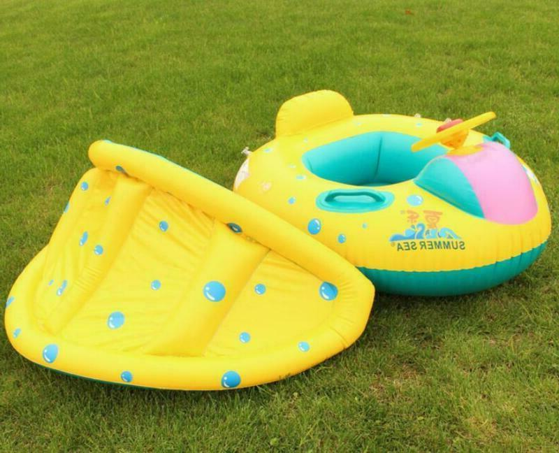 Sea Inflatable Toddler Pool Water Canopy