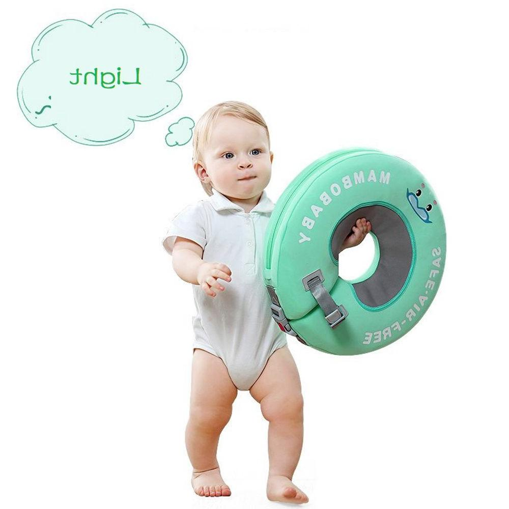 Solid Not Inflatable <font><b>Baby</b></font> Floating Neck Ring Swimming for Accessories pool