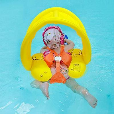 Spacrea Baby Swimming Pool Floats - Spring Floats Inflatable Baby