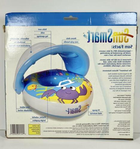 Sun Baby Float Canopy Inflatable Floats 6-18 Mon
