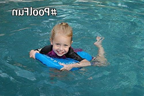 Nekdoodle Pool For Aqua Fitness - Water & Exercises - & Recreational Pool - Adults Kids - Blue